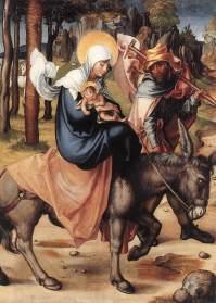 La fuga in Egitto, 1496, Dresden, Gemäldegalerie