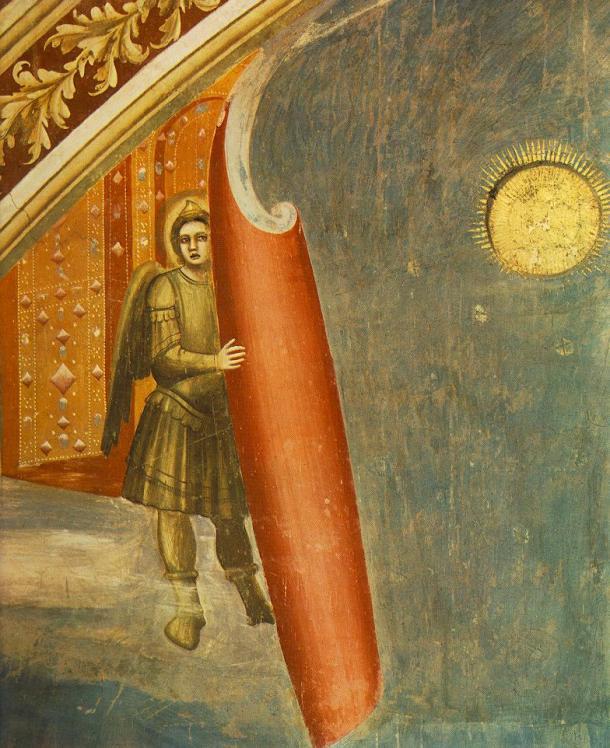 Giotto - Scrovegni - Giudizio Universale (detail)